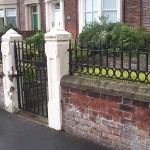 loop and spear head wall railings